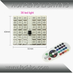 36smd 5050 RGB Panel LED with controller
