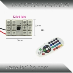 12smd 5050 RGB Panel LED with controller