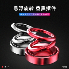 Double Ring Rotating Suspension Perfume