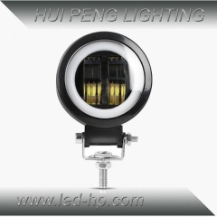 20W LED Work Light Circle Or Square (with angel eyes)